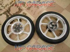 HONDA (Honda) Original wheel front and back set NS-1