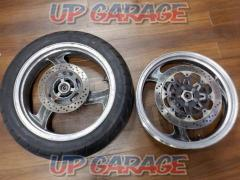 KAWASAKI Genuine front and rear wheel set
