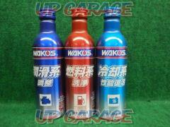 WAKO`S (Wakozu) Refresh kit C101 For cooling water / for fuel / for engine oil 3 piece set