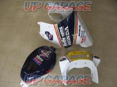 Garege Dome NSR250R Rothmans exterior set/upper cowl, tank cover, side cowl only