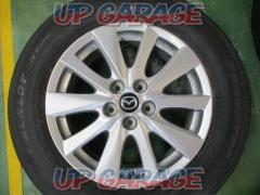 Mazda genuine (MAZDA) CX-5 original wheel + DUNLOP (Dunlop) GRANDTREK ST30 Four