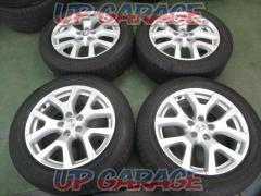 Nissan original (NISSAN) X-TRAIL T31 genuine late stage + BRIDGESTONE DUELER H / P SPORT 4 pieces set