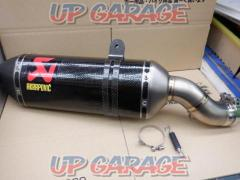 AKRAPOVIC hexagonal S-K10SO16-HZC