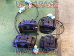 TOYOTA 86 ZN6 Genuine caliper Set before and after For 17 inch rotor