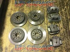 Subaru genuine (SUBARU) BRZ late genuine brake caliper & rotor set