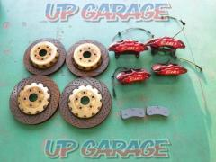 IDEAL IDEAL8+IDEAL6 Extreme control brake kit + brake rotor set