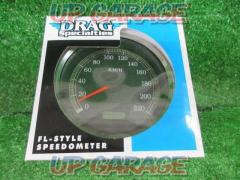 DRAG specialties (Drug Specialties) Electronic speedometer Softail ('99 to '03)