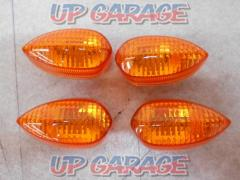 YAMAHA (Yamaha) Genuine turn signal lens set of 4 FZ-1 Feather ('06)