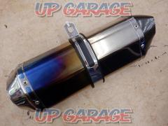 LCI for left PARTS Hexagon silencer Carbon End / titanium General purpose Sakomi径 Φ54