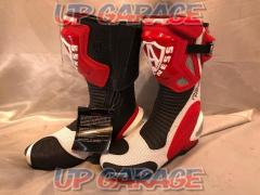 Size: 42 (about 26.5cm) Red / white Allenes Racing boots