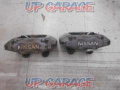 Nissan original (NISSAN) Skyline R32 For GT-R genuine front caliper diversion