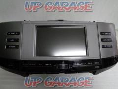 TOYOTA Mark X 120 series genuine multi monitor + Genuine CD tuner (T07494)