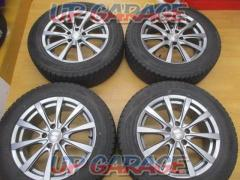 GRASS 10-spoke + DUNLOP (Dunlop) WINTER MAXX SJ8