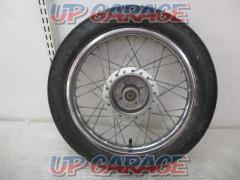 HONDA (Honda) genuine rear wheel + tire Remove from Little Cub