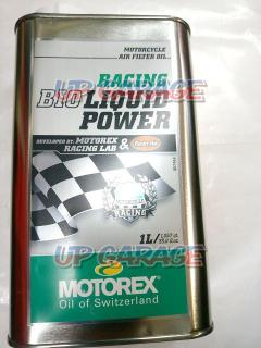 MOTOREX (Motorex) Air filter oil (racing bio liquid power) [1L]