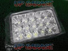 Unknown Manufacturer LED headlights Squareness