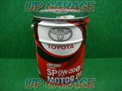 Toyota genuine engine oil 0W-20 SP/GF-6A 100% chemical synthesis 20L No. 08880-13203