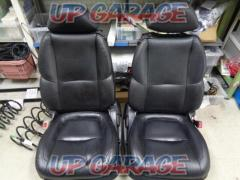 Toyota genuine Black leather power seat (T08144)