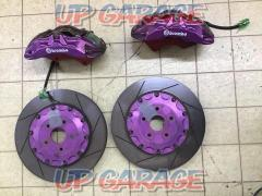 brembo (Brembo) 6 pod caliper + 380mm Two-piece rotor