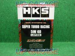 HKS Super racing oil SUPER TURBO RACING 5W-40 4L 100% chemical synthesis oil SN + standard compliant LSPI correspondence 52001-AK125