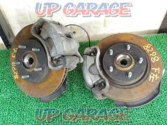 Toyota Prius α genuine hub + knuckle + caliper + rotor front Left and right