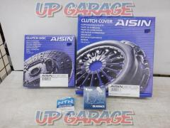 AISIN CH-019 + DH-026 + CBU472921D Clutch cover + clutch disk + bearings