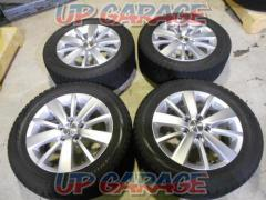 Imported car genuine (Pure parts of imported automobile) VW genuine golf 6 genuine 10 spokes + BRIDGESTONE (Bridgestone) BLIZZAK VRX