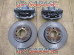 HONDA Grace / GM6 genuine front brake caliper + disc rotor