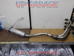 8 Manufacturer unknown Exhaust pipe + TSUKIGI Aluminum silencer