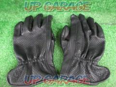Unknown Manufacturer Punching mesh leather gloves XL size