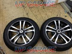 2 Unknown Manufacturer 12 inches aluminum wheels front and rear set
