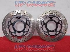 CB1300SF (removed from 2006 model year) Front disc rotor left right set Honda genuine