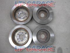 TOYOTA (Toyota) 86 / ZN6 previous term genuine brake rotor Front and rear set / 1 unit