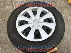 Toyota Corolla Fielder genuine steel wheels + PIRELLI (Pirelli) ICE CONTROL