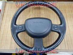 NI2010-9116 SUBARU KK3 Vivio genuine leather steering