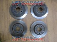 TOYOTA Voxy / ZRR80 Genuine brake rotor front and rear set