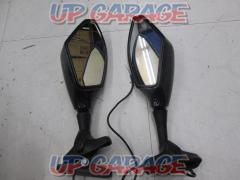 Unknown Manufacturer Carbon-like blinker mirror for cowling