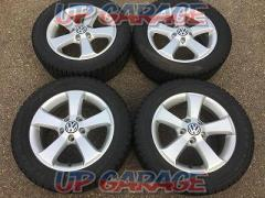 Imported car genuine (Pure parts of imported automobile) VW Golf genuine + BRIDGESTONE (Bridgestone) VRX