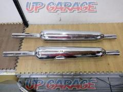 9KAWASAKI 650RS W3 genuine silencer