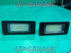 Unknown Manufacturer LED license plate light