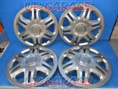 Unknown Manufacturer Wheel cap 12 inches for steel Silver 4 sheets set