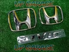 HONDA Civic FK7 Emblem set