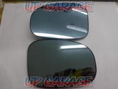 Toyota genuine option Raincoat mirror (Blue lens) Right and left