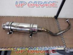 2 Realize Stainless muffler