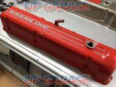 Nissan original (NISSAN) L type Tappet cover (NISSAN / OHC) / engine head cover Red 1 piece