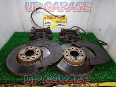 Volks Wagen (Volkswagen) genuine Sirocco 1.4 TSI genuine Front brake caliper + Rotor + Back plate set