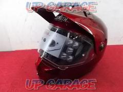Size: L Off-road helmet ZENITH (Zenith) YX-6 Wine red