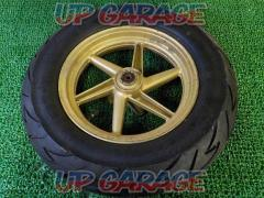 HONDA Live Dio genuine front wheel