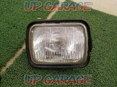 [GPZ750R / GPZ900R Ninja / Ninja] KAWASAKI (Kawasaki) Genuine headlight / square glass / 001-1843