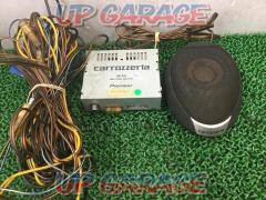 carrozzeria TS-CX7 + GM-A51 Control center speaker sound